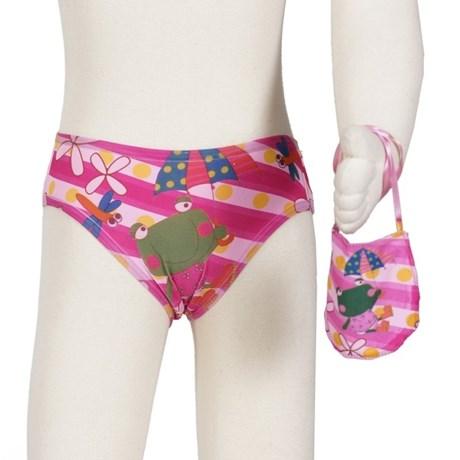 Kit calcinha infantil em microfibra sublimada com 3 unidades N54.A