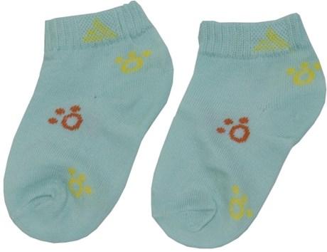 Kit meia infantil cano curto em algodão com três pares G31.C