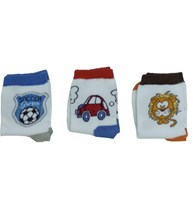 Kit meia masculina infantil em algodão com 3 pares G04.C