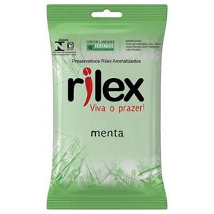 Kit Preservativo Com 3 Unidades Menta Rilex S369