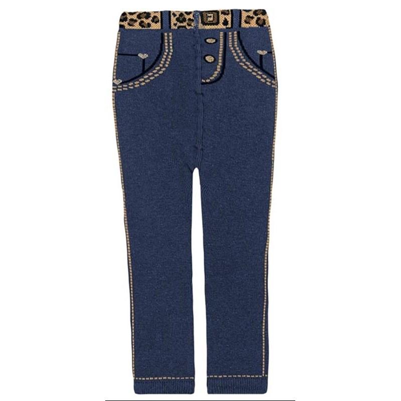 95dfa56ef Meia calça jeans feminina para bebê em algodão G49.B - ClickChique
