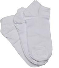 Meia sapatilha esportiva em algodão com 3 pares G14.A