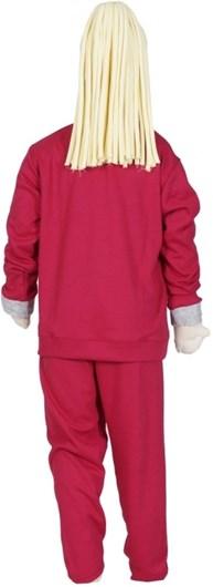 Pijama cangurú infantil em malha canelada com elástico embutido R09.B