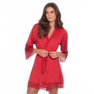 Robe Luxo Super Conforto Com Detalhes em Renda O22.A