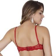 Soutien strappy bra em renda bordada I136