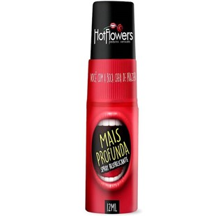 Spray Refrescante Sexo Oral Mais Profunda S248